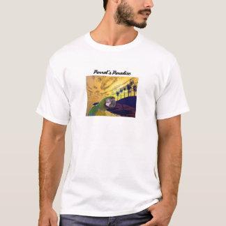 Das Paradies des Papageien T-Shirt