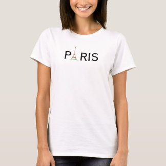 Das Paris der Frauen mit Eiffelturm T-Shirt