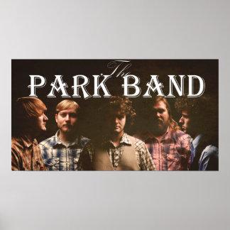 Das Park-Band-Plakat 2011