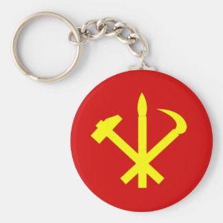 Das Party der koreanischen Arbeitskräfte - Schlüsselanhänger