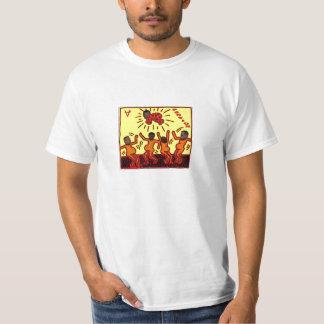 """""""Das Party-"""" T-Stück der Partei-Männer T-Shirt"""