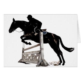 Das Pferdespringen Karte