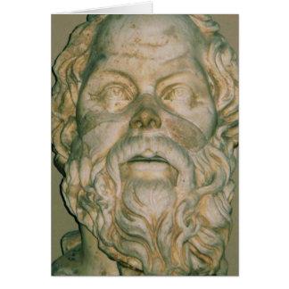Das Philosoph SOCRATES Karte