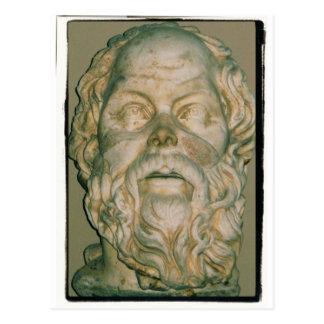 Das Philosoph SOCRATES Postkarte