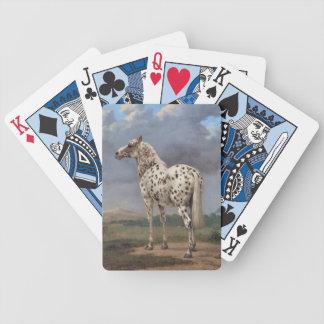 Das piebald-Pferd Bicycle Spielkarten