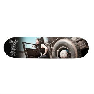 Das Pixeleye - frisiertes Auto II von III 20,6 Cm Skateboard Deck