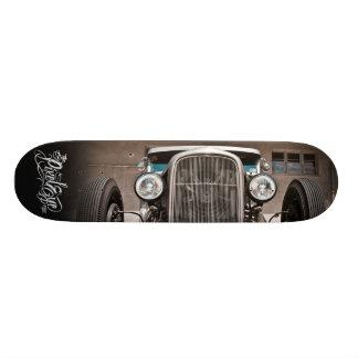 Das Pixeleye - frisiertes Auto III von III Skateboard Deck