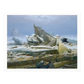 Das polare Meer, 1824 Postkarte
