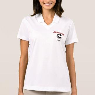 Das Polo-Shirt der Frauen mit Borinqueneers Logo Polo Shirt