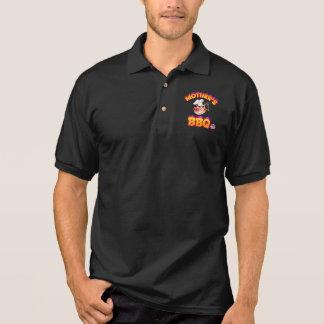 Das Polo-Shirt Männer die GRILLEN der Mutter Polo Shirt