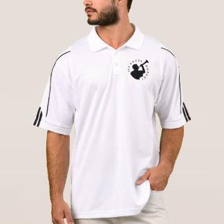 Das Polo-Shirt-Schwarzes Engels-Moroni-Männer Polo Shirt