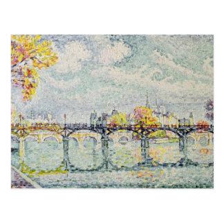 Das Pont des Arts, 1928 Postkarte