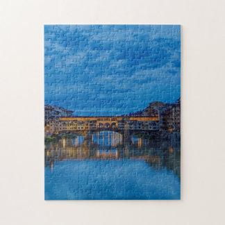 Das Ponte Vecchio in Florenz Puzzle