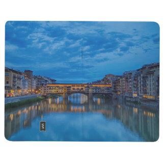 Das Ponte Vecchio in Florenz Taschennotizbuch