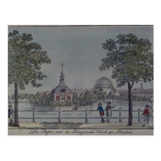 Das Pool und die französische Kirche in Potsdam, Postkarte