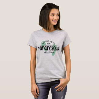 Das PortlandPararescuet-stück der Frauen T-Shirt