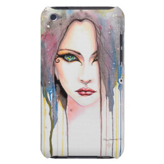 Das psychische Aquarell-Kunst-Porträt iPod Touch Hüllen