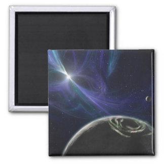 Das Pulsarplanetensystem Quadratischer Magnet