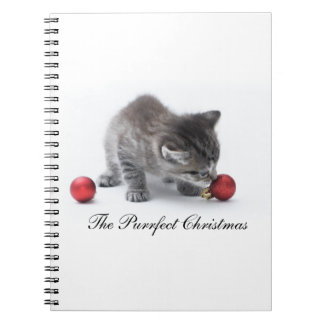 The Purrfect Christmas Notebook