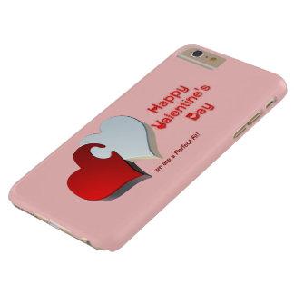 Das Puzzlespiel des Valentinsgrußes Barely There iPhone 6 Plus Hülle