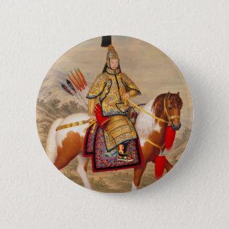 Das Qianlong der China Kaiser 乾隆帝 in der Runder Button 5,1 Cm