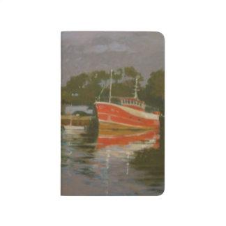 Das Quay Salcombe 2 des Fischers Taschennotizbuch