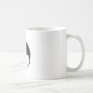 Das quiff kaffeetasse
