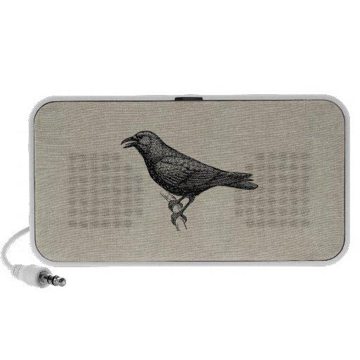 Das Raben-Gekritzel Mini Speaker
