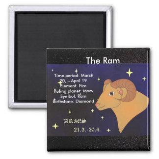 Das RAM, Tierkreis-Zeichen für Widder, Quadratischer Magnet