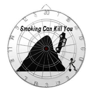 Das Rauchen kann Sie töten Dartscheibe