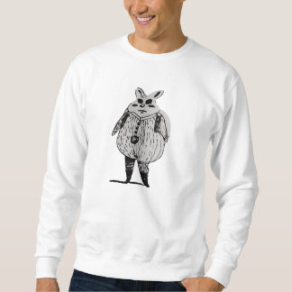 Das Realist-Kaninchen Sweatshirt