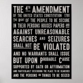 Das Recht auf Privatsphäresplakat der vierten Poster