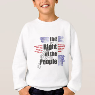 Das Recht der Leute Sweatshirt