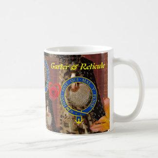 Das rechte achtbare geheime Emblem des Kaffeetasse