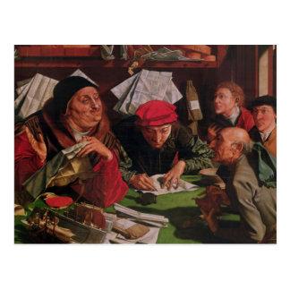 Das Rechtsanwaltsbüro, c.1545 Postkarte