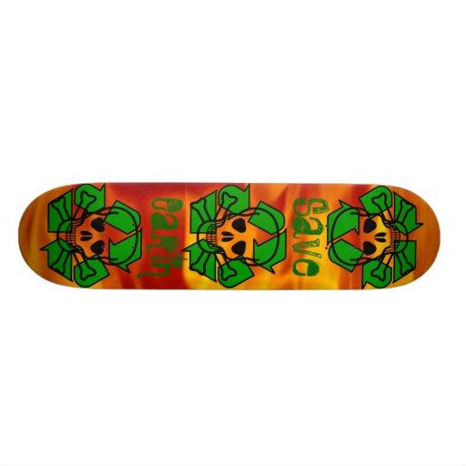 Das Recyclinator Skate Board