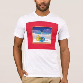 Das reizende Bargeld verdunkelt verworfenes T-Shirt