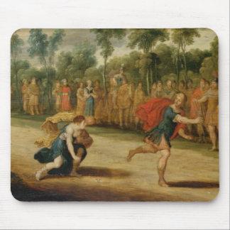 Das Rennen von Atalanta und von Hippomenes (Öl auf Mousepad