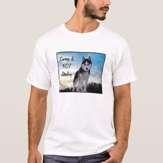 """""""Das Retten ist Diebstahl NICHT"""" des T - Shirt"""