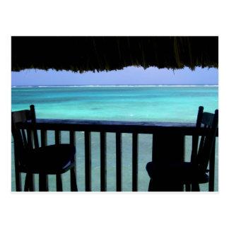das Riff anstarren, Belize Postkarte