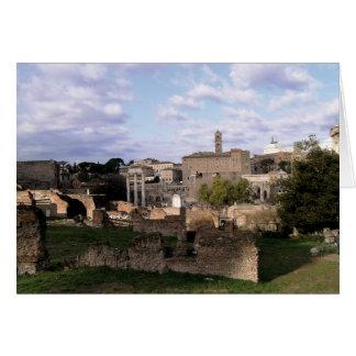 Das römische Forum Karte