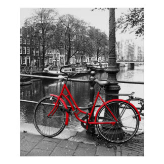 Das rote Fahrrad 1 Poster