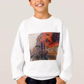 Das rote Haus durch Claude Monet Sweatshirt