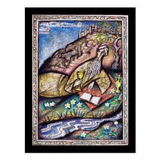 Das Rubaiyat von Omar Khayyam Postkarte