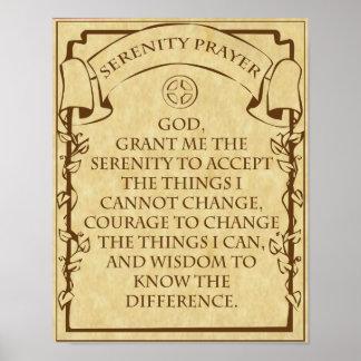 Das Ruhe-Gebet Poster