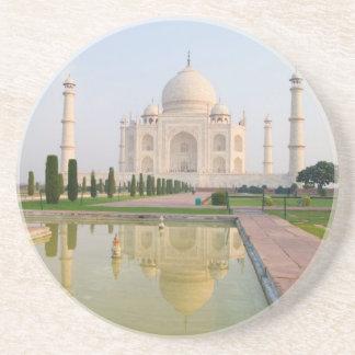 Das ruhige friedliche Taj Mahal an Sonnenaufgang Getränkeuntersetzer