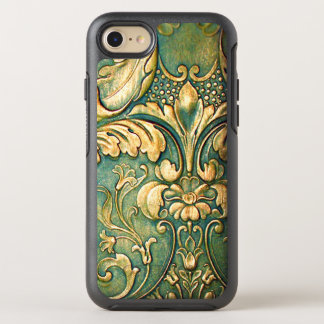 Das rustikale irische gefärbte Grün schnitzen OtterBox Symmetry iPhone 8/7 Hülle