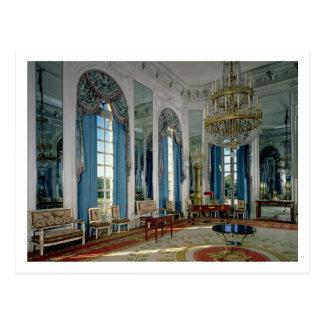 Das Salon-DES Glaces (der Raum der Spiegel) in Postkarte