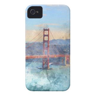 Das San Francisco Golden gate bridge in iPhone 4 Case-Mate Hülle