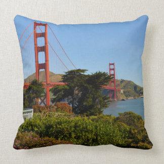 Das San Francisco Golden gate bridge in Kissen